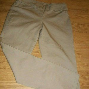 GREAT PAIR OF CROFT & BARROW STRETCH PANTS SIZE 10
